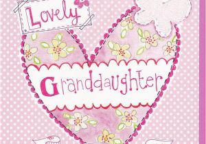 Granddaughter Birthday Card Images Heart butterfly Granddaughter Birthday Card Karenza