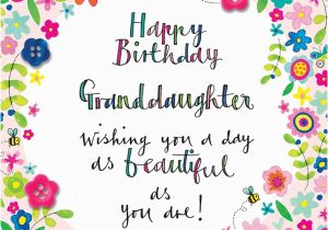 Granddaughter Birthday Card Images Press8 Granddaughter Happy Birthday Floral Relations