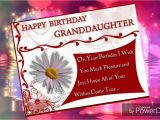 Granddaughter Birthday Cards for Facebook Happy Birthday Granddaughter 39 Youtube