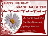 Granddaughter Birthday Cards for Facebook Happy Birthday Granddaughter Quotes Quotesgram