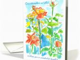Granddaughter In Law Birthday Card Happy Birthday Granddaughter In Law orange Roses