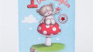 Granddaughters 1st Birthday Card Hugs 1st Birthday Card Granddaughter Only 1 49