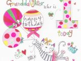 Granddaughters 1st Birthday Card Large Cards Collection Karenza Paperie