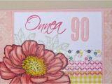 Grandma 90th Birthday Card Invisiblepinkcards Happy 90th Grandma