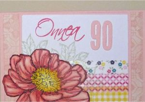 Grandma 90th Birthday Card Invisiblepinkcards Happy