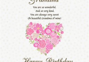 Grandma Birthday Card Sayings Happy Pictures Photos And Images For