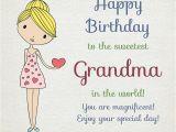Grandma Birthday Card Sayings Happy Birthday Grandma Warm Wishes for Your Grandmother