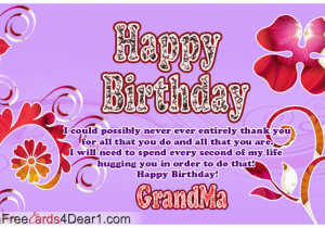 Grandma Birthday Card Sayings Happy Grandmother Quotes Quotesgram