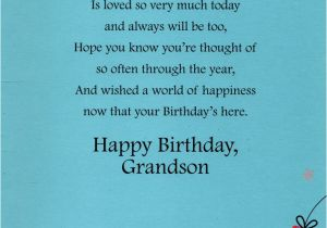 Grandson Birthday Wishes Greeting Cards Grandson Happy Birthday Greeting Card Lovely Greetings