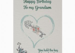 Grandson Birthday Wishes Greeting Cards Happy Birthday Grandson Greeting Card Zazzle