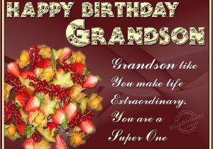 Grandson Birthday Wishes Greeting Cards Happy Birthday Grandson Quotes Quotesgram