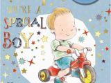 Grandson First Birthday Card Great Grandson 39 S 1st Birthday Card 1 today Little Boy