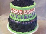 Grave Digger Birthday Decorations Grave Digger Cake Risen Indeed Cakes Pastries