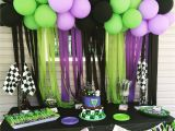 Grave Digger Birthday Decorations Grave Digger Party Monster Jam 2nd Birthday Pinterest