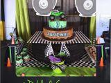 Grave Digger Birthday Decorations Monster Jam Gravedigger Birthday Party Ideas Photo 1 Of