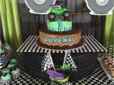 Grave Digger Birthday Decorations Monster Jam Gravedigger Birthday Party Ideas Photo 6 Of