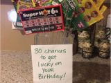 Great 30th Birthday Presents for Him Scratch Card Bouquet 30th Birthday for Him In 2019
