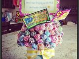 Great 40th Birthday Gifts for Him 40th Birthday Gift Sucker Bouquet with Lotto Tickets