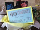 Great 40th Birthday Presents for Him 40th Birthday Gift Idea Creative Gift Ideas 40th
