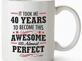 Great 40th Birthday Presents for Him 40th Birthday Gifts for Her Amazon Com