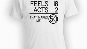 Great Birthday Gifts for 30 Year Old 50th Birthday T Shirt Great Birthday Gift for Any 50