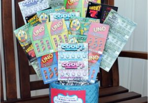 Great Birthday Gifts For Her 40th Lottery Ticket Bouquet Gift Thoughtful