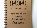 Great Gifts for Mom On Her Birthday Birthday Gift to Mom Mothers Day Gift Notebook Gift