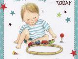 Great Grandson 1st Birthday Card Grandson 1st Birthday Card Ebay