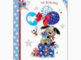 Great Grandson 1st Birthday Card Special Grandson 39 S 1st Birthday Card Karenza Paperie