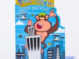 Great Grandson Birthday Cards Birthday Card Great Grandson Gorilla Only 89p