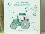 Great Grandson Birthday Cards Great Grandson Birthday Card by Molly Mae