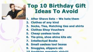 Great Inexpensive Birthday Gifts for Him Birthday Gift Ideas for Men who Have Everything