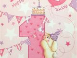 Great Niece Birthday Card Great Niece Age 1 1st Birthday Card Short Verse