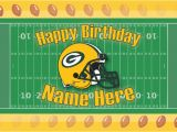 Green Bay Birthday Cards Free Custom Sports Birthday Card Green Bay Packers