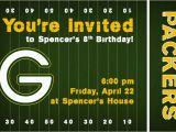 Green Bay Birthday Cards Invite146
