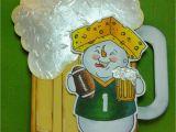 Green Bay Birthday Cards the Cricut Bug Packer Beer Card