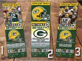Green Bay Packers Birthday Invitations Nfl Green Bay Packers Birthday Invitation Ticket Flickr