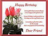 Greeting Card for Birthday Of Friend Birthday Wishes for Friend Wishes Greetings Pictures