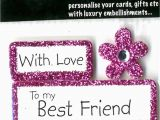 Greeting Card for Birthday Of Friend Happy Birthday Best Friend Diy Greeting Card toppers