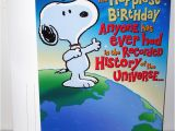 Greeting Card Universe Online Birthday Card Peanuts Over Sized Cards Collectpeanuts Com