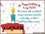 Greeting Cards for Mother S Birthday Birthday Wishes for Mom Quotes and Messages