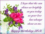 Greeting Cards for Mother S Birthday Happy Birthday Mom Free Ecards Pics