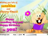 Groundhog Day Birthday Card Happy Groundhog Day Greetings Message Picsmine