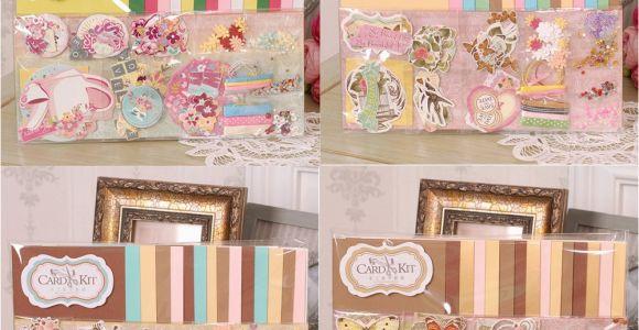 Group Birthday Card Ideas Handmade Paper Card Craft Making Supplies Idea for