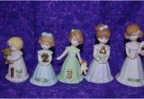 Growing Up Birthday Girls by Enesco Adorable Enesco Growing Up Birthday Girl Ages 1 2 3 4 and