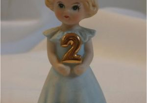 Growing Up Birthday Girls by Enesco Blonde Growing Up Birthday Girl Age 2 Enesco by