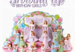 Growing Up Birthday Girls by Enesco Enesco 1982 Growing Up Girls Age 2 Brunette Hair