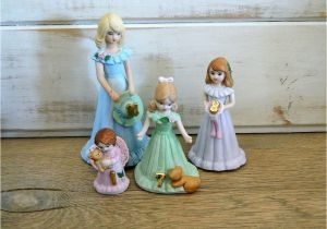 Growing Up Birthday Girls by Enesco Enesco Birthday Girl Growing Up Figurines Choose by