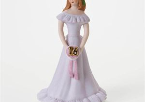 Growing Up Birthday Girls by Enesco Enesco Growing Up Girls Brunette Age 16 Musical Birthday