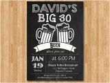 Guy Birthday Invitations 30th Birthday Invitations for Men Dolanpedia